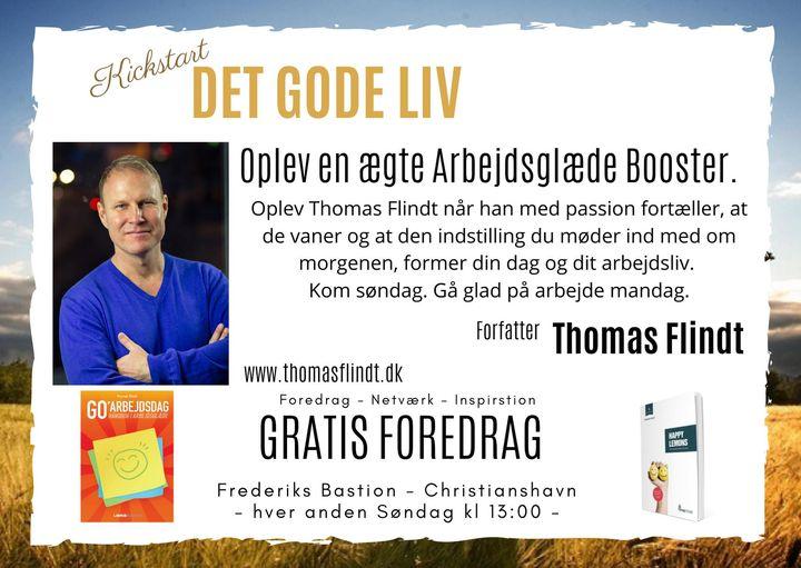 Arbejdsglæde foredrag med Thomas Flindt